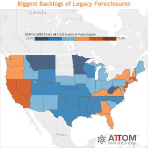 Foreclosure Activity Down