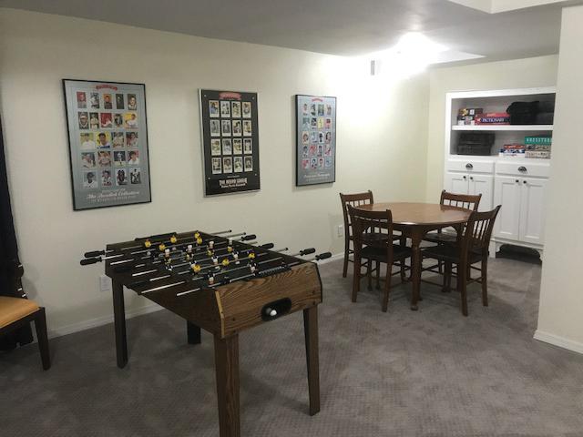 Basement Game Room - after