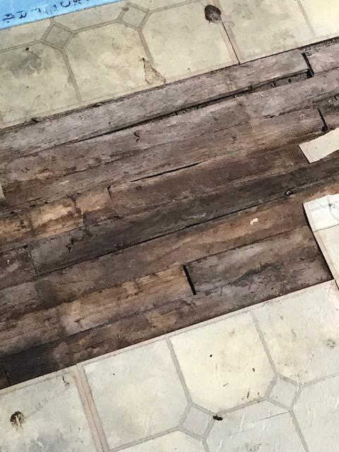 Floor - before