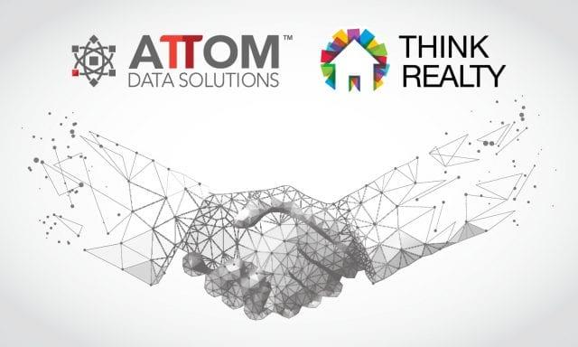 Think-Realty-ATTOM-Partnership