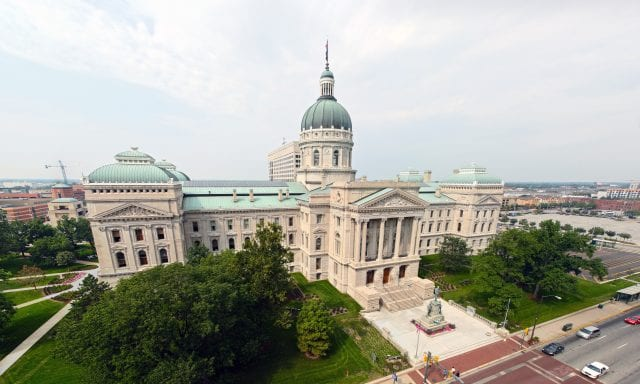 Indiana State Capitol Landlord Fees